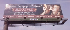Nashville Billboard for a cigar shop