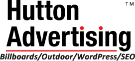 Hutton Advertising: Billboards/Outdoor Advertising/WordPress/SEO